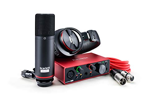 Focusrite Scarlett Solo Studio 3rd Gen interfaccia audio USB