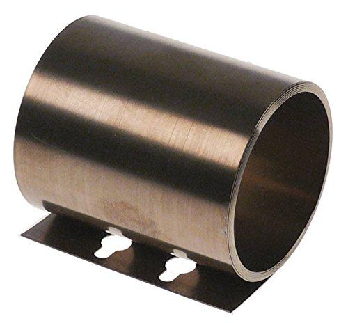 Hobart Rollfeder für Spülmaschine UW-125, UW-205 für Tür Breite 65mm Innen ø 48mm Laschenlänge 24mm