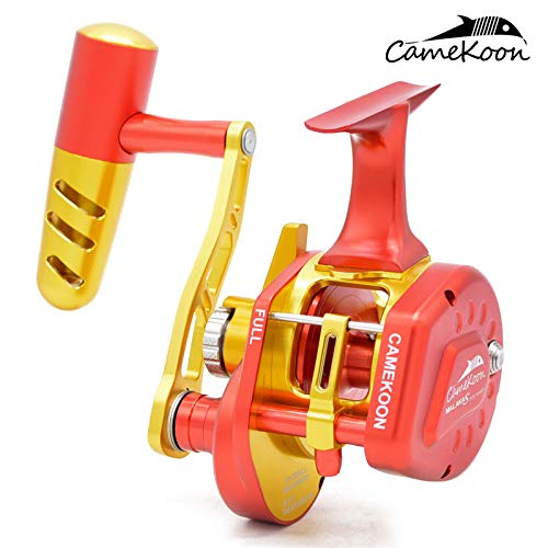 CAMEKOON MALAKAS Series Underspin Reel, Over 77LB Carbon Drag, 6.3:1...