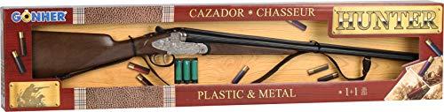 Fucile giocattolo doppietta da caccia 66 cm con parti in metallo