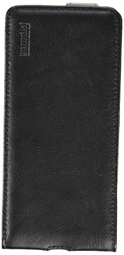 mumbi Funda Compatible con Samsung Galaxy J7 2016 Caja del teléfono móvil, Negro Transparente