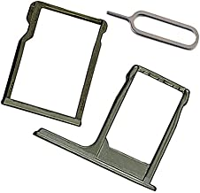 Sim Card Tray & SD Memory Card Holder Replacement For H TC One M8 (gray)