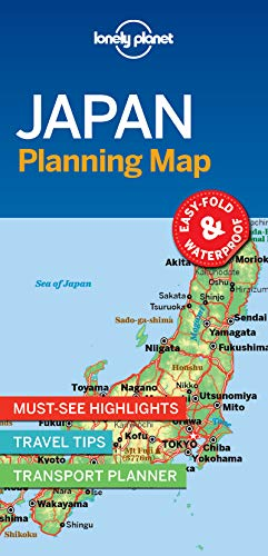 Lonely Planet Japan Planning Map [Idioma Inglés]