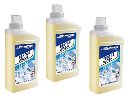Holmenkol 1-2-3er Textil Wash 1000ml Waschmittel Softshell Microfaser Jacke Hose (1x1000ml(=1000ml))