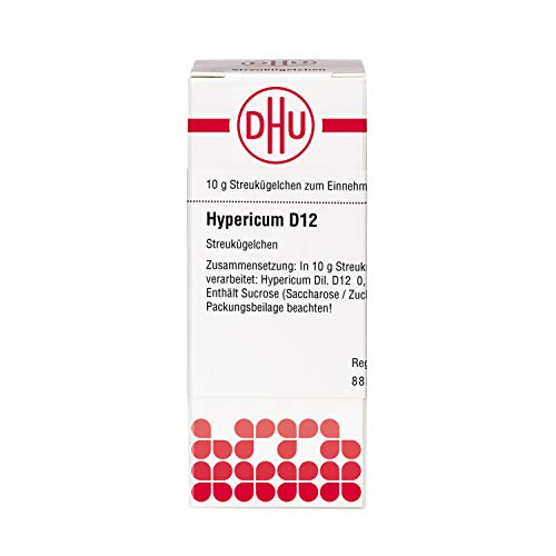 DHU Hypericum D12 Streukügelchen, 10 g Globuli