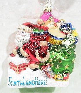 Hurry on Down - Christopher Radko Retired Ornament