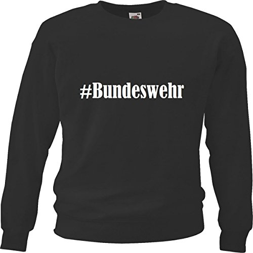 Reifen-Markt Sweatshirt Kinder #Bundeswehr Größe 164 Farbe Schwarz Druck Weiss