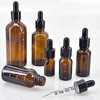 Dropperflessen met schaal 5 ml-100 ml reagens oogdruppel amber glas aromatherapie vloeibare pipet fles hervulbare flessen ...