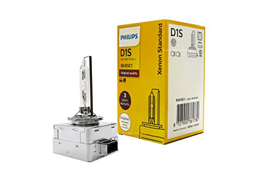 D1S - PHILIPS 4300K XenStart OEM HID/Xenon Replacement bulb 85415C1 35W DOT Germany - Pack of 1 by ALI