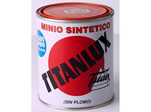 TITANLUX - Minio Sin Plomo Naranja Titanlux 125 Ml