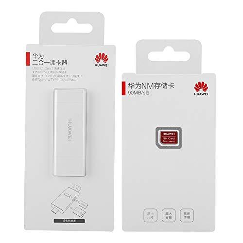 Lector Tarjetas USB Tarjeta De Memoria, Lector De Tarjetas Y Tarjeta De Memoria Nano De Lectura De Alta Velocidad con Diseño De último Tamaño (64 GB)