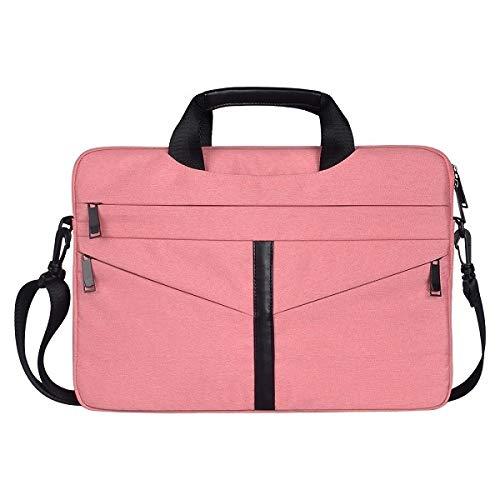 JINXIUCASE 13.3 15.6 Inch Shoulder Bag For E5450 Dell Xps Women Men Notebook Cover Case Sleeve For Hp Pavilion G6 Envy M6 Spectre X360 (Color : Pink, Size : Hp spectre x360 13)