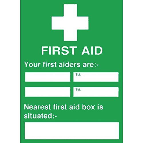 Onbekend y922 Sign EHBO-curse Nearest First Aid Box