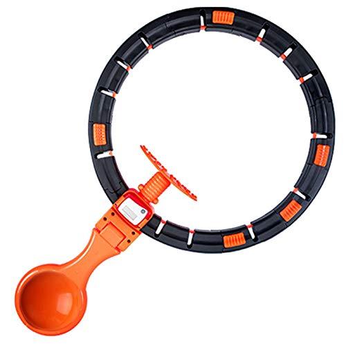 xinyawl Hula Hoop Gym At Home Fitness Sport Loop anillo inteligente portátil anillo de conteo círculo Yoga rueda Spinning para el hogar entrenamiento abdominal