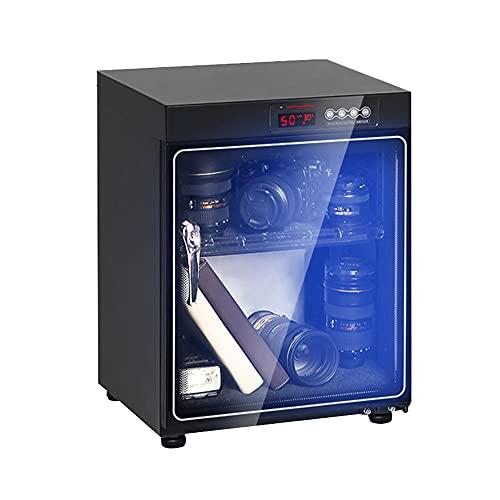 Armadio di asciugatura-armadio di deumidificazione della fotocamera, ripiano regolabile, scatola a prova di umidità della fotocamera SLR, scatola di conservazione silenziosa a risparmio energetic