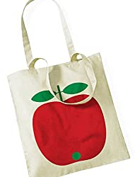 Jutebeutel Apfel