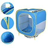 ELECTROPRIME Baby Beach Tent Pop Up Cubby Canopy Shade Pool Infant Sun Shelter