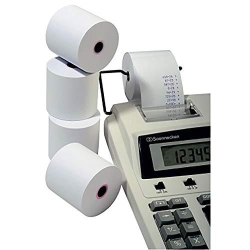 Additionsrolle, 57mm breit, 40m lang, Sorte holzfrei, Ø 12 mm (Kern), PG = 5 Rollen