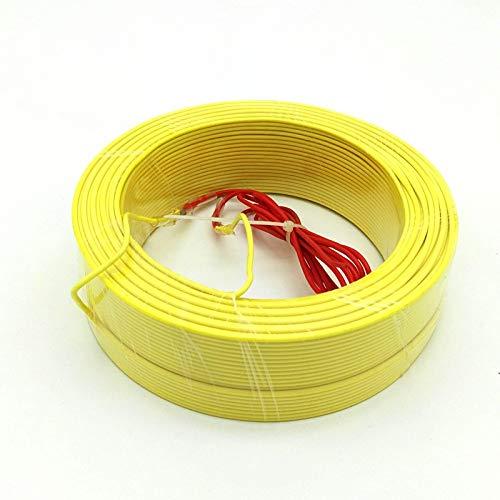 MCYNQ Cable calefactor de suelo Cable calefactor de invernadero Piso cálido para plantas Todos los tamaños 30/50/100 / 120m Color aleatorio, 120 metros