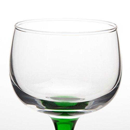 6 Verres à Vin d'Alsace VIN DU RHIN - unis
