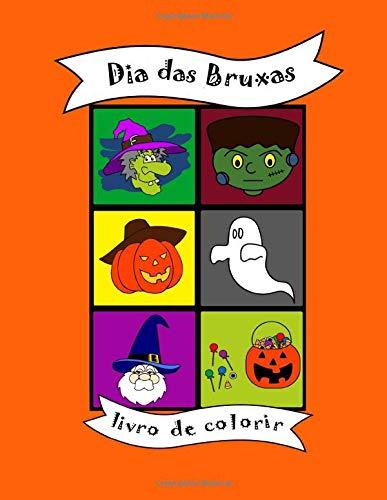 Livro de colorir: Dia das Bruxas, Halloween, gostosuras ou travessuras, fantasma, para bebês e crianças, criancinha, pré-escolar, escolinha, jardim de ... viagem,  ensino primário, infantil