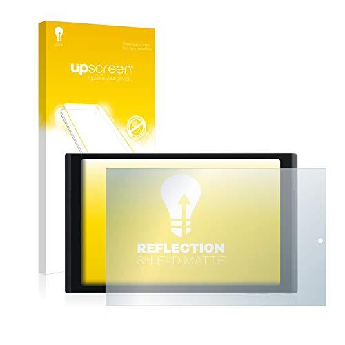 upscreen Entspiegelungs-Schutzfolie kompatibel mit Medion Lifetab X10302 (MD 60347) – Anti-Reflex Bildschirmschutz-Folie Matt
