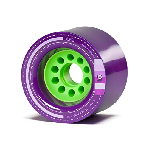 Orangatang Longboardrollen Kegel 80mm 83A (Purple)