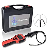 Poseidon Articulating Industrial Endoscope   Camera Borescope for Inspection   Video Recording   2.7inch LCD Screen Digital   IP67 Waterproof   800mm Snake Camera   6mm Probe with 6 LED Lights