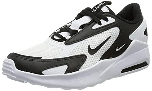 Nike Air Max Bolt Sneaker, White/Black-White, 36 EU