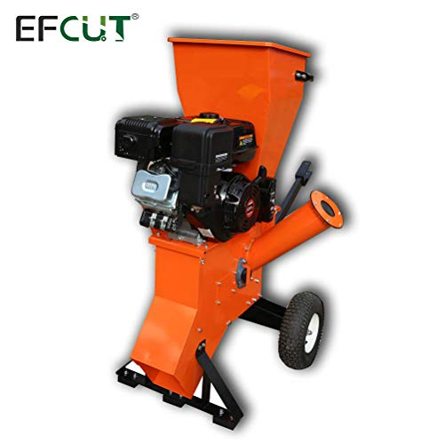 Best Buy! EFCUT B40E Wood Chipper Shredder Mulcher 15HP 420cc Super Heavy Duty Engine Gas-Powered El...