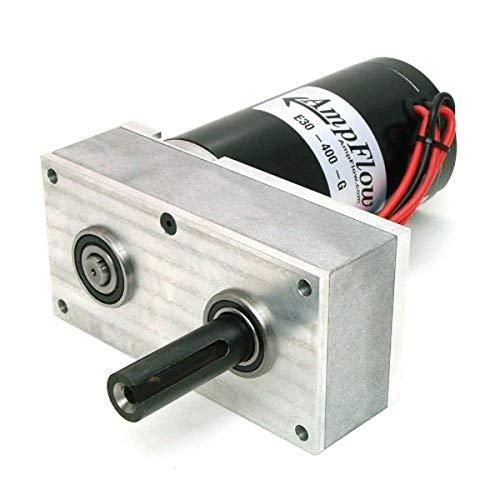 AmpFlow E30-400-G Electric Gearmotor, 12V, 24V or 36 VDC, 680 RPM