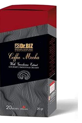 Dr.BIZ Kaffee Mocca mit Ganoderma lucidum Pulver (10%), 400g, 20 Beutel