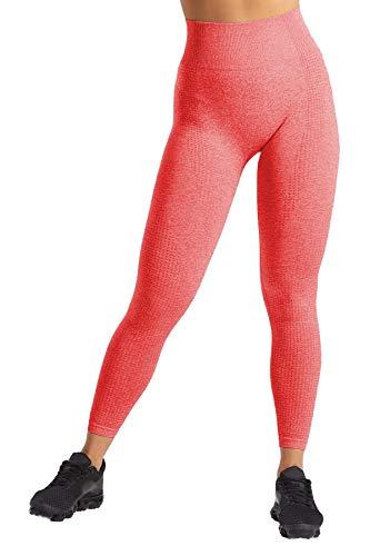 Pau1Hami1ton Talle Alto Sin Costura Leggins para Mujer Gimnasio Capri Mallas Pantalones...
