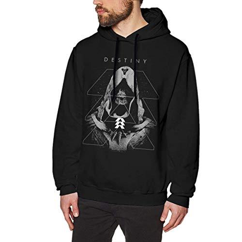 maichengxuan Destiny 2 Herren Hoodies Sweatshirt Pullover Langarm Hoodies Casual Sweatshirts Gr. L, Schwarz
