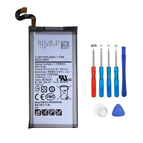 Swark EB-BG950ABE - Batería de repuesto para Samsung Galaxy S8 SM-G950 (incluye herramientas)