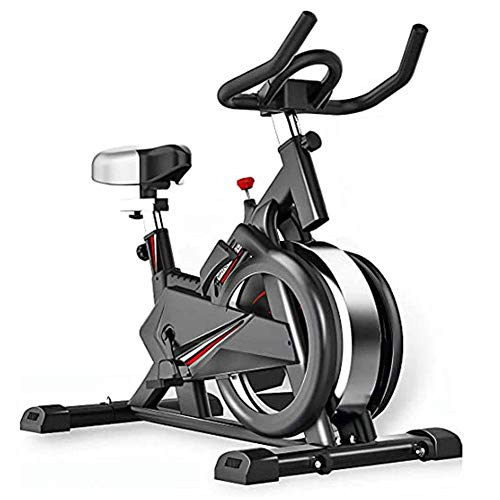 AUTOKS Indoor Spinning Bicycle Ultra-Quiet Exercise Bike Home Bicycle Sports Fitness Equipment Aerobics Training Device, Can Be Adjusted According to Their Own