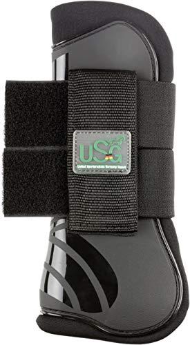 USG Hartschalengamasche, schwarz, Pony