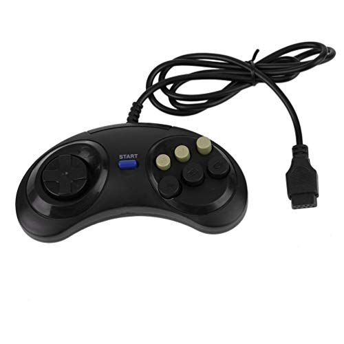 Kinshops Six Buttoms Game Handle Command Pad Accesorios de plástico Gamepad para...
