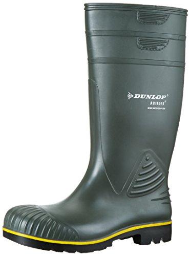 Dunlop B440631 ACIFORT KNIE GROEN 46, Unisex-Erwachsene Langschaft Gummistiefel, Grün (Grün(Groen) 08), 46 EU