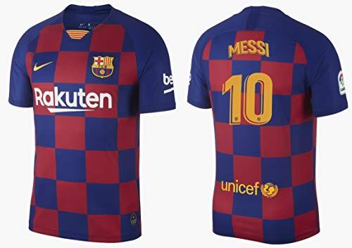F.C. Barcelona Trikot Kinder 2019-2020 Home La Liga - Messi 10 (S (128-137))