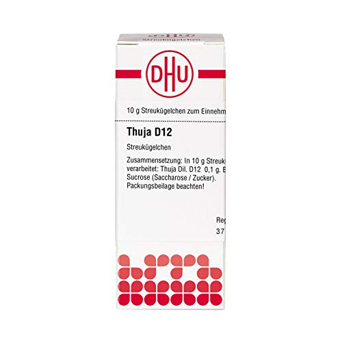 DHU Thuja D12 Streukügelchen, 10 g Globuli