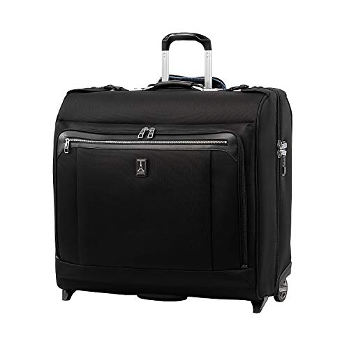Travelpro Luggage Platinum Elite 50' Rolling Garment Bag, Suitcase, Shadow Black