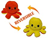 hese super soft toys are perfect for playing, collecting & cuddling. A cute reversible plush Octopus with two different expressions. These stuffed toys are the perfect gifts for holidays, birthdays, baby showers, Christmas, Valentine's Day & more! Ea...