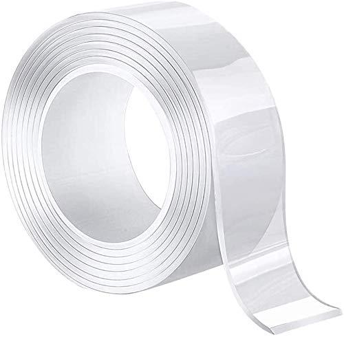 両面テープ 魔法のテープ テープ はがせる 超強力 滑り止め のり残らず 繰り返し 防水 洗濯可能 無毒無味 地震防止 多用途 オフィス 家庭 寮 学校 強力接着用 工業用など (3M)