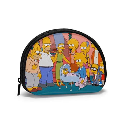 Otra Navidad para los Simpsons Mini Monedero para Damas Almacenamiento de Billetes Zpper Security
