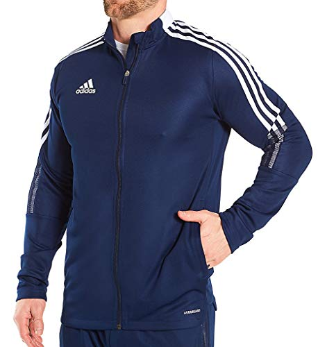 Adidas Men's Tiro 21 Track Jacket, Navy Blue,S - US