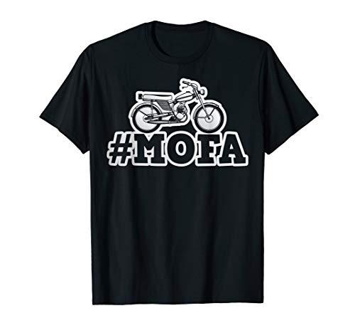 Oldtimer Moped Mofa Mofaroller T-Shirt