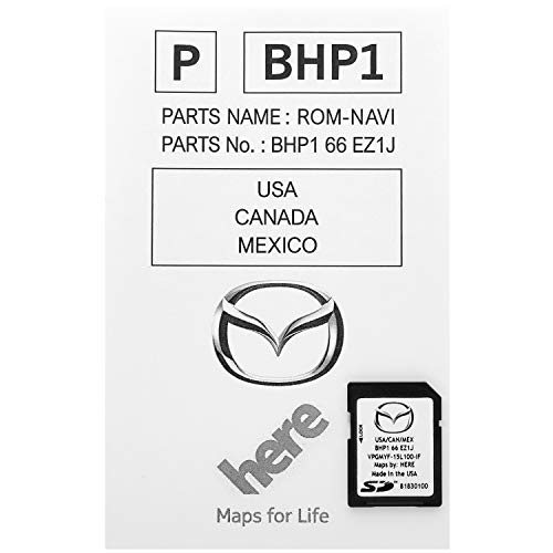 Latest 2019 Navigation SD Card 2019 2018 2017 Version BHP166EZ1J for Mazda 3 6 CX-3 CX-5 CX-9 GPS Chip Map With Anti Fog Car Rearview Mirror Film Pack of 2