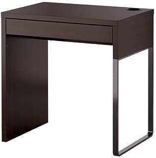 Ikea MICKE - Escritorio, color negro y marrón, 73 x 50 cm
