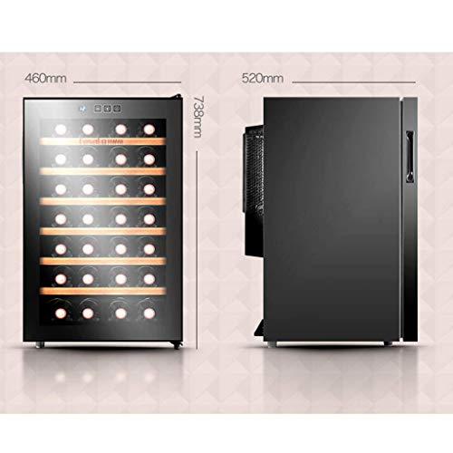 LXD Nevera/enfriadora eléctrica Household-28 - Temperatura constante y humedad Bodega de vino...